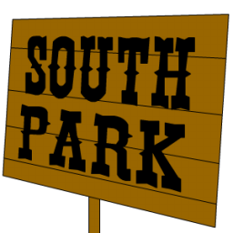 South-Park-Sign-icon